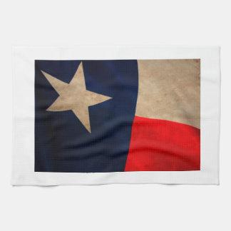 Vintage Texas Flag Towel