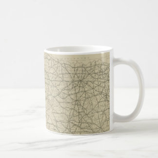Vintage Texas Highway Map (1919) Coffee Mug
