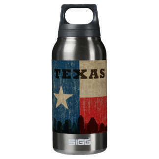 Vintage Texas Insulated Water Bottle