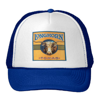 Vintage Texas Longhorn Image Hat