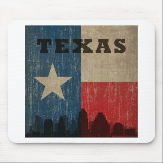 Vintage Texas Mouse Pad