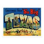 Vintage Texas Postcard at Zazzle