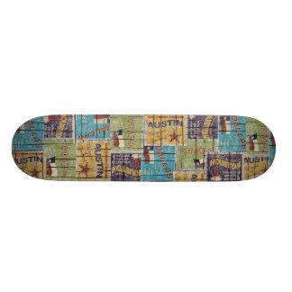 Vintage Texas Skateboard