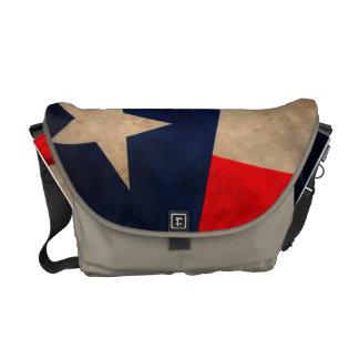 Vintage Texas State Flag Crossbody Bag