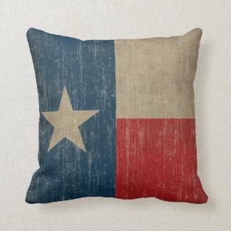 Vintage Texas Throw Pillow