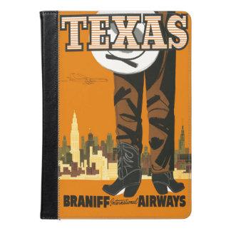 Vintage Texas Travel Poster iPad Air Case