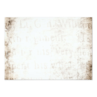 Vintage Text 1700 Background Paper Template Blank