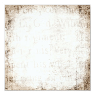Vintage Text 1700 Background Paper Template Blank Card