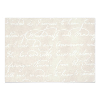 Vintage Text Colonial Background Paper Template