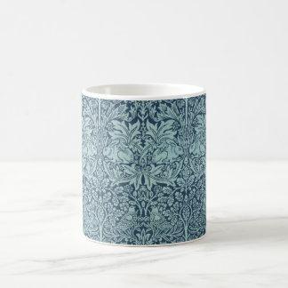 Vintage Textile Pattern Brer Rabbit William Morris Coffee Mug