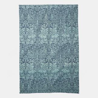 Vintage Textile Pattern Brer Rabbit William Morris Hand Towel