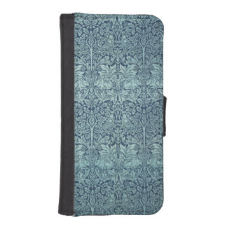 Vintage Textile Pattern Brer Rabbit William Morris Wallet Phone Case For iPhone SE/5/5s