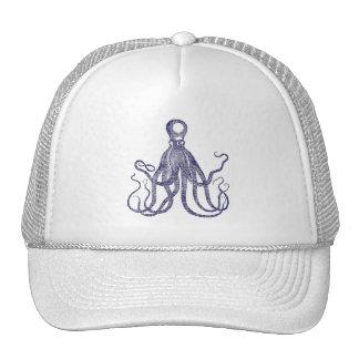 Vintage Textured Octopus Hats