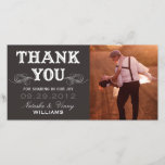"""VINTAGE THANK YOU   WEDDING THANK YOU CARD<br><div class=""""desc"""">OTHER COLORS AVAILABLE</div>"""