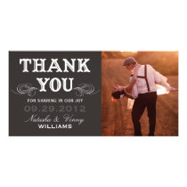 VINTAGE THANK YOU | WEDDING THANK YOU CARD