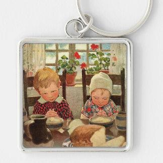 Vintage Thankful Children; Jessie Willcox Smith Key Chains