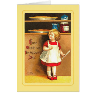 Vintage Thanksgiving Card at Zazzle