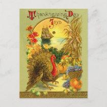 Vintage Thanksgiving Day Postcard