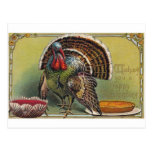 Vintage Thanksgiving Day Postcard reproduction