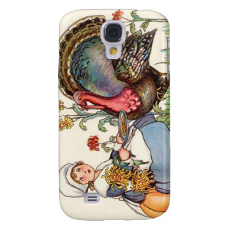 vintage thanksgiving galaxy s4 cover