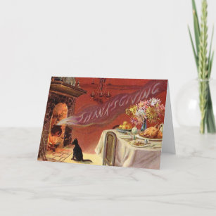 Thanksgiving cards zazzle vintage thanksgiving greeting card m4hsunfo