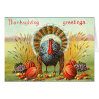Vintage Thanksgiving Greetings Cards