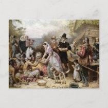 Vintage Thanksgiving Holiday Postcard