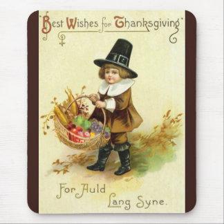 Vintage Thanksgiving Mousepad