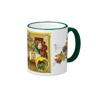 Vintage Thanksgiving Mug