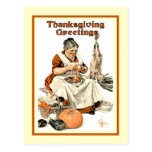Vintage Thanksgiving Post Card