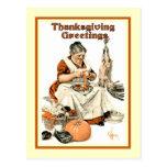 Vintage Thanksgiving Post Card