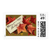 Vintage Thanksgiving Postage