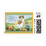 vintage Thanksgiving postage stamp