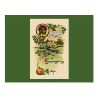 Vintage Thanksgiving Postcard