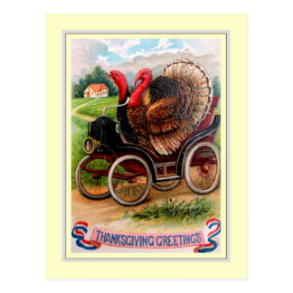 Vintage Thanksgiving Postcard