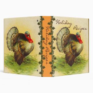 Vintage Thanksgiving Recipe Binder