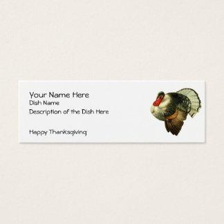Vintage Thanksgiving Recipe Card