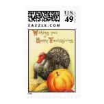 Vintage Thanksgiving Stamp