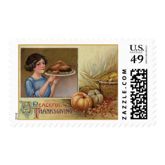 Vintage Thanksgiving stamps