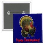 Vintage Thanksgiving Turkey Button