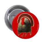 Vintage Thanksgiving Turkey Buttons