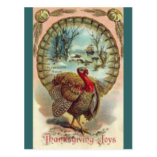 Vintage Thanksgiving Turkey-Postcard