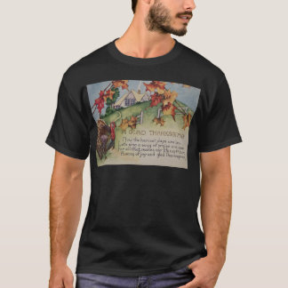 Vintage Thanksgiving - Turkey & Verse T-Shirt
