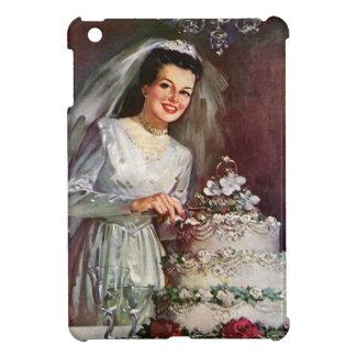 Vintage - The Beautiful Bride and Her Wedding Cake iPad Mini Case