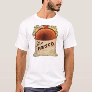 Vintage The Frisco Restaurant Hamburger T-Shirt