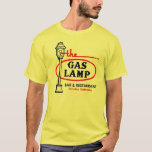 Vintage The Gas Lamp Omaha T-Shirt