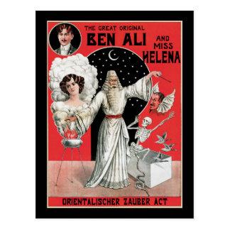 Vintage The Great Original Ben Ali Post Card