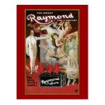 Vintage The Great Raymond & Company Postcard