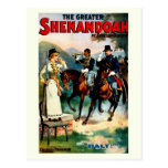 Vintage the greater Shenandoah theatre play Post Cards