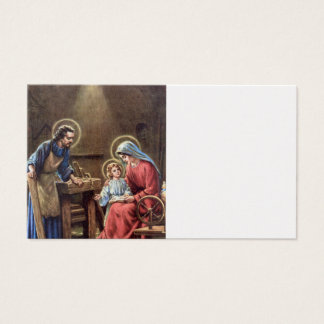 vintage the holy family, Jesus christ, Josef,Mary, Business Card